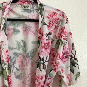 Show Me Your MuMu Intimates & Sleepwear - Show Me Your Mumu Brie Robe Garden of Blooms OS